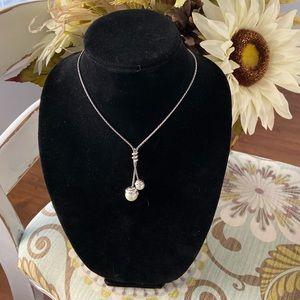 Brighton Faux Pearl Pendant Necklace